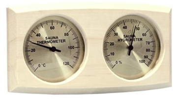 Hygrometer und Thermometer
