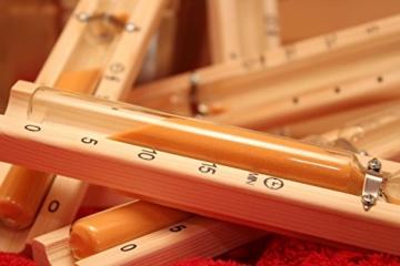 Sanduhr für Sauna und Infrarotkabine