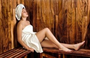 Sauna und Infrarotkabine Gesundheit