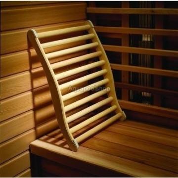 Rückenlehner für die Sauna