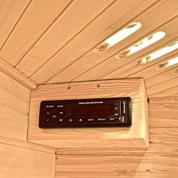 Home Deluxe Redsun XXL inklusive Radio