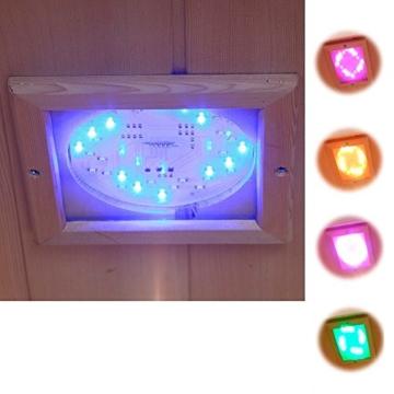 Home Deluxe Redsun XXL Infrarotkabine LED